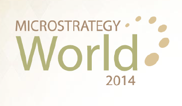 MicroStrategy World 2014 - Las Vegas Logo